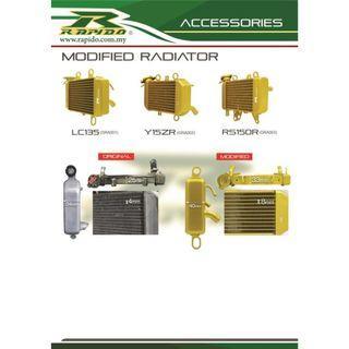 Radiator y15zr, rs150, 135lc rapido big