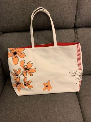 Original Clarins Skincare/ makeup large tote bag
