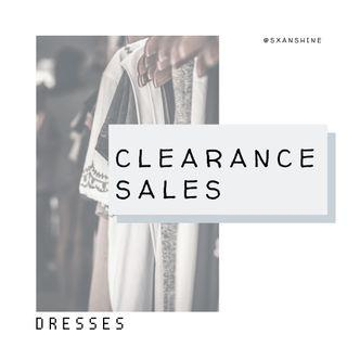 CLEARANCE SALES | Dresses