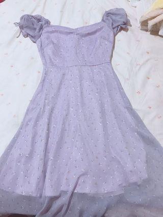 🚚 紫色,粉色洋裝