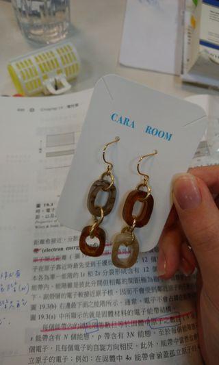 🚚 Cara room 琥珀耳環