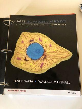 Karp's Cell and Molecular Biology textbook