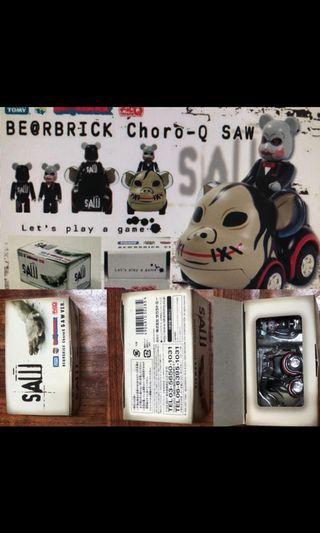 2008年 Choro Q x SAW be@rbrick 限定版 Bearbrick