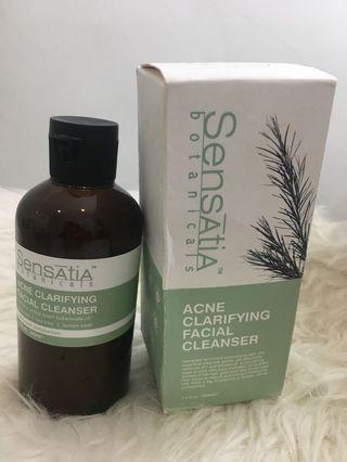 Sensatia botanicals Acne Clarifying  Facial Cleanser