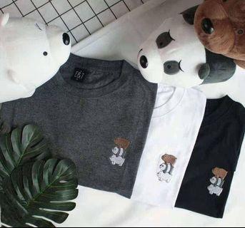 We Bare Bears Tee Shirt