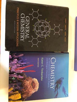 Chenistry textbooks