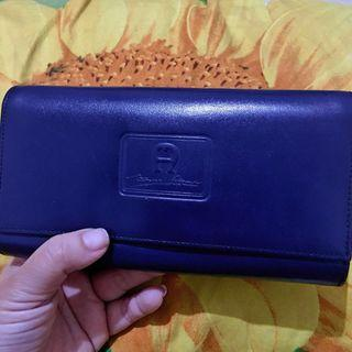 Authentic Leather Wallet - Navy Blue #SociollaCarousell