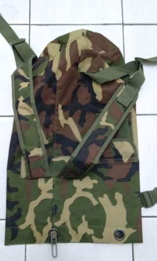 Rucksack with camouflage