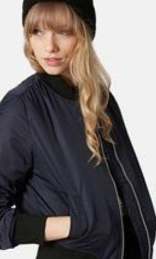 NEW WITH TAGS - AUTHENTIC GUESS LONG BOMBER WOMENS UTILITY JACKET