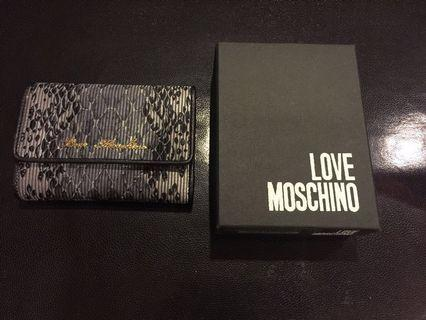 💯% Authentic Love Moschino Wallet