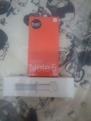 Xiaomi redmi note 5 4/64 black segel new