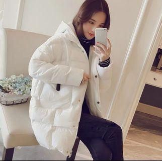 Brand new.. Thick Winter Jacket / Coat.. L size White colour