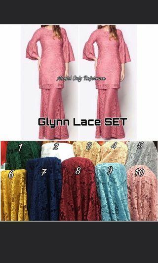 🚚 Baju Kurung Lace INSTOCK