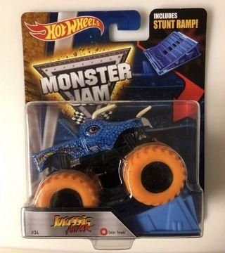 🚚 Hot Wheels Monster Jam Jurassic Attack Colour Thread 1:64
