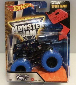 🚚 Hot Wheels Monster Jam Son Uva Digger Color Thread 1:64 Limited