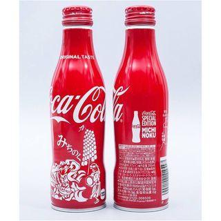 日本可口可樂北東北城市鋁樽一枝
