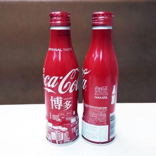 日本可口可樂博多城市鋁樽一枝