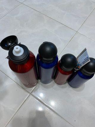水樽 500ml 1L 紅藍銀三色