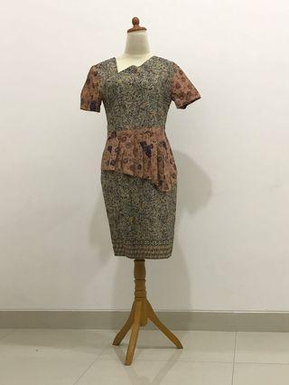 Batik Dress Pastel
