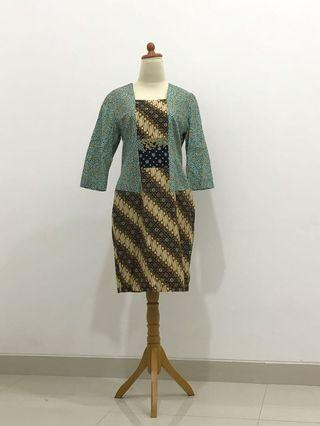Batik Dress Kutubaru