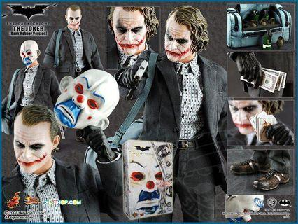 Hottoys mms079 the joker bank robber version 1.0