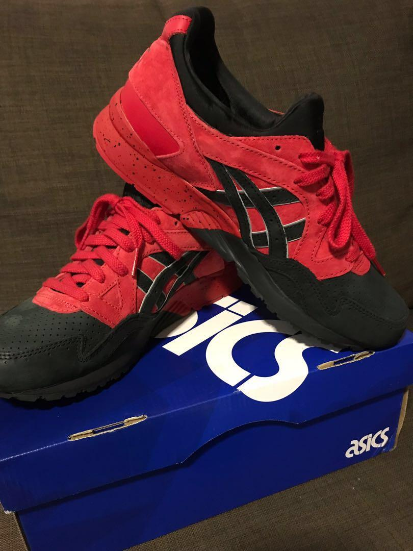 the latest 0c9ca d1fa8 Asics Gel Lyte V Red/Black, Men's Fashion, Footwear ...