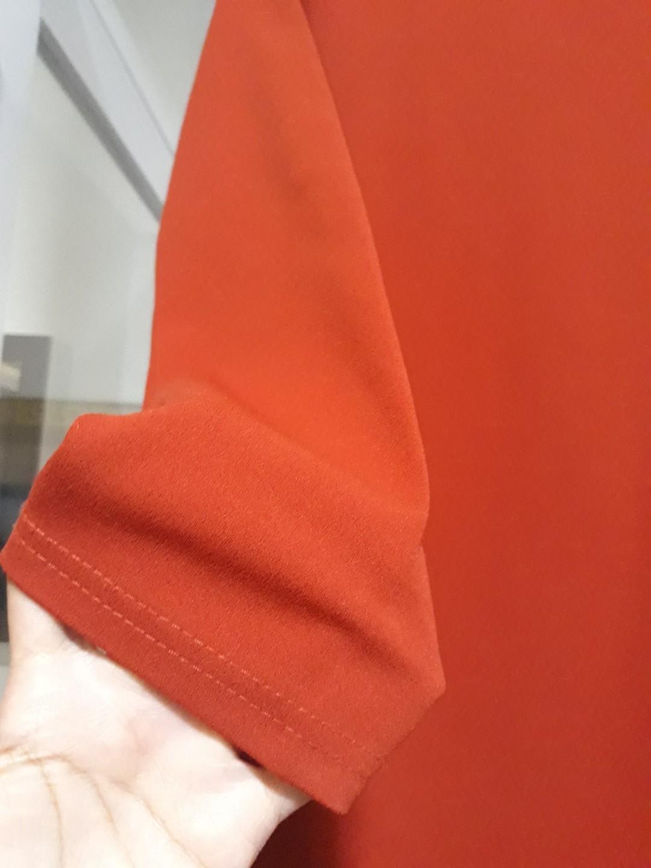 Atasan muslim orange
