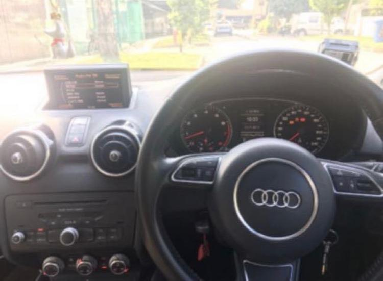 Audi A1 for rent - Not Available