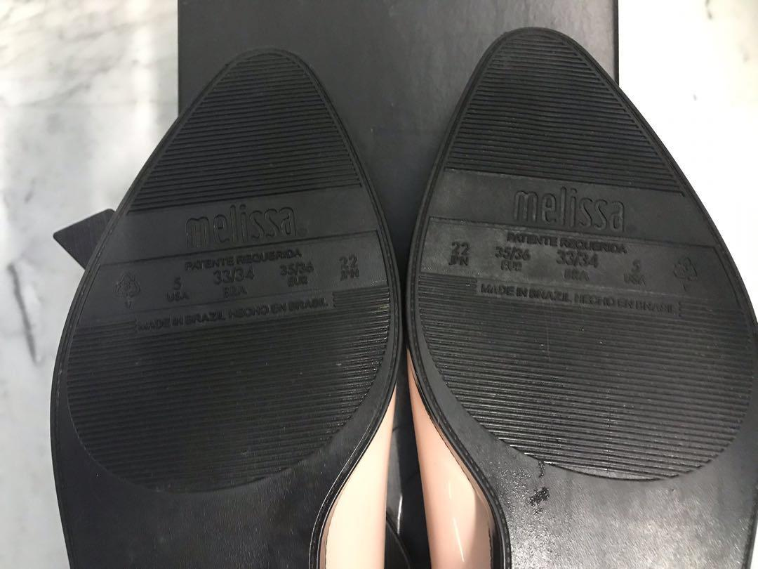 Authentic Melissa Mary Jane AD Flats US 5