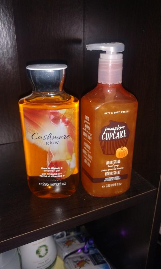 Bath & Body Works shower gel and hand soap #SwapCA