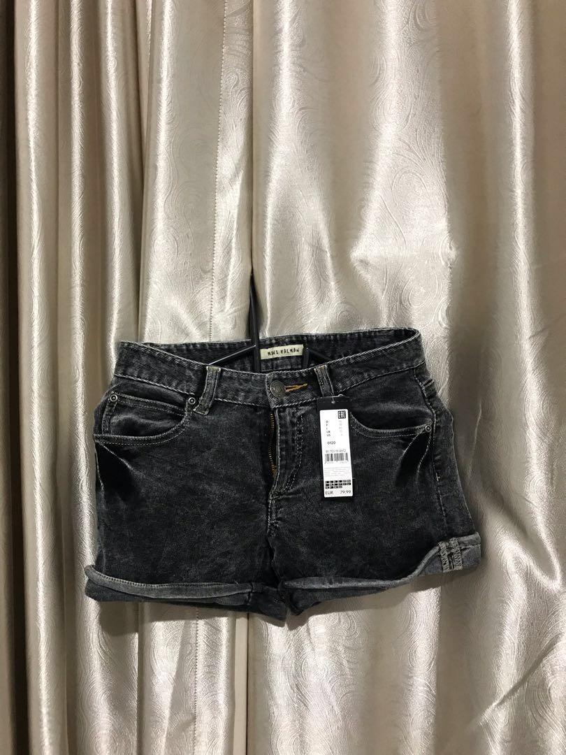 Black Velvet Short