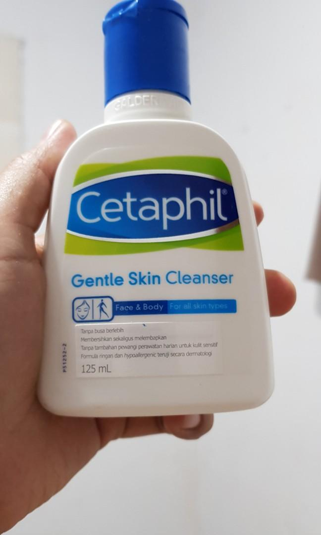 Cetaphil Gentle Skin Cleanser 100% ORI