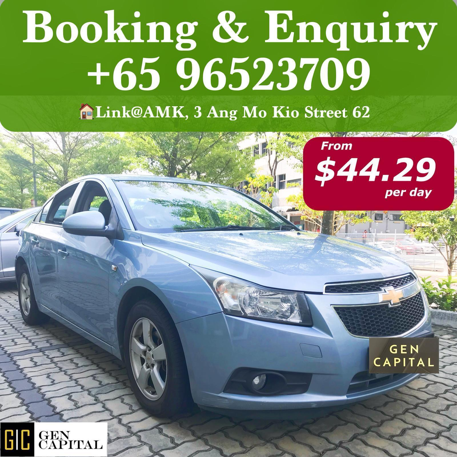 Limited!! [Hari Raya Available] Chevrolet Cruze 1.6A Classy Drive