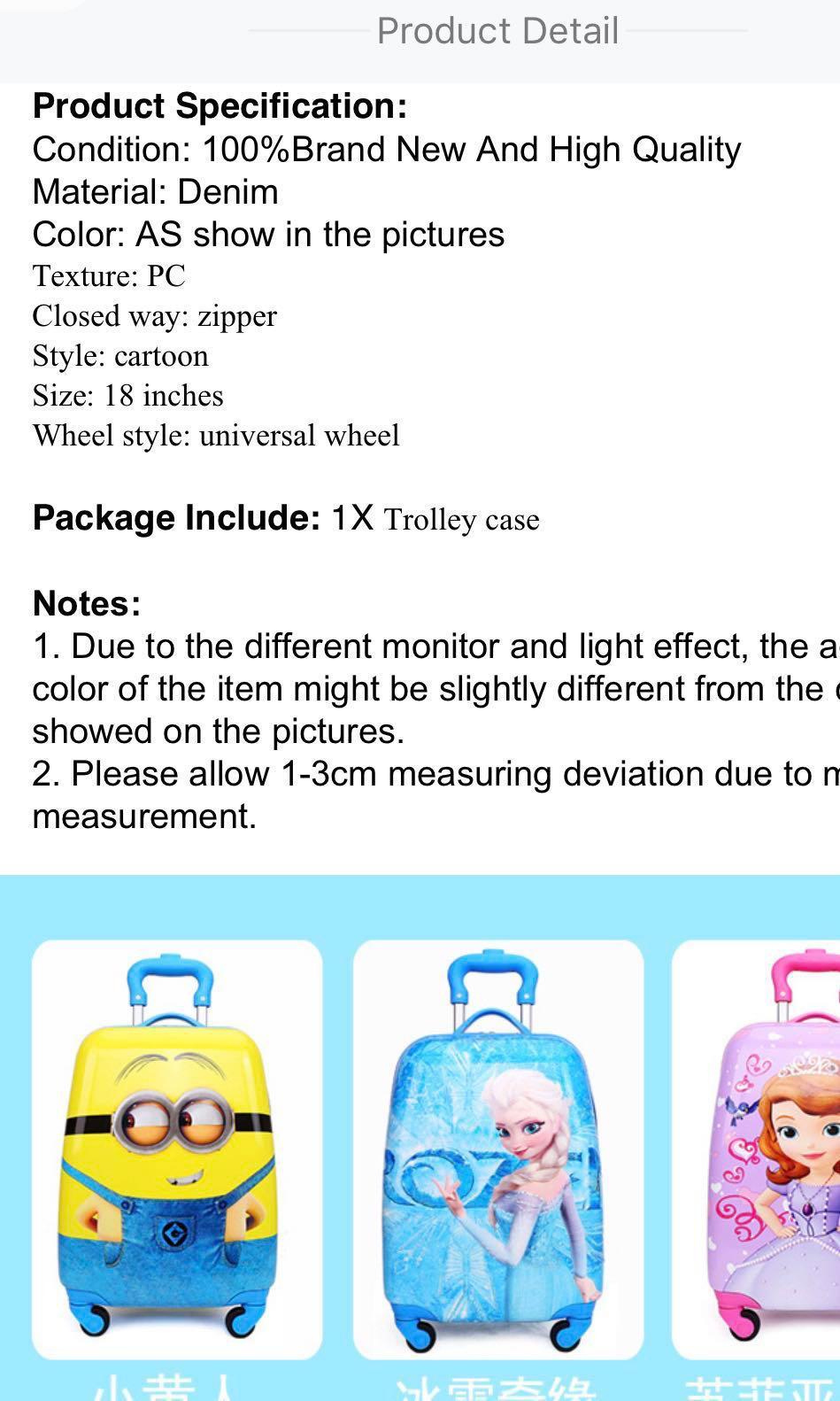 children suitcase/ kids easy travel/baby luggage/,cabin box