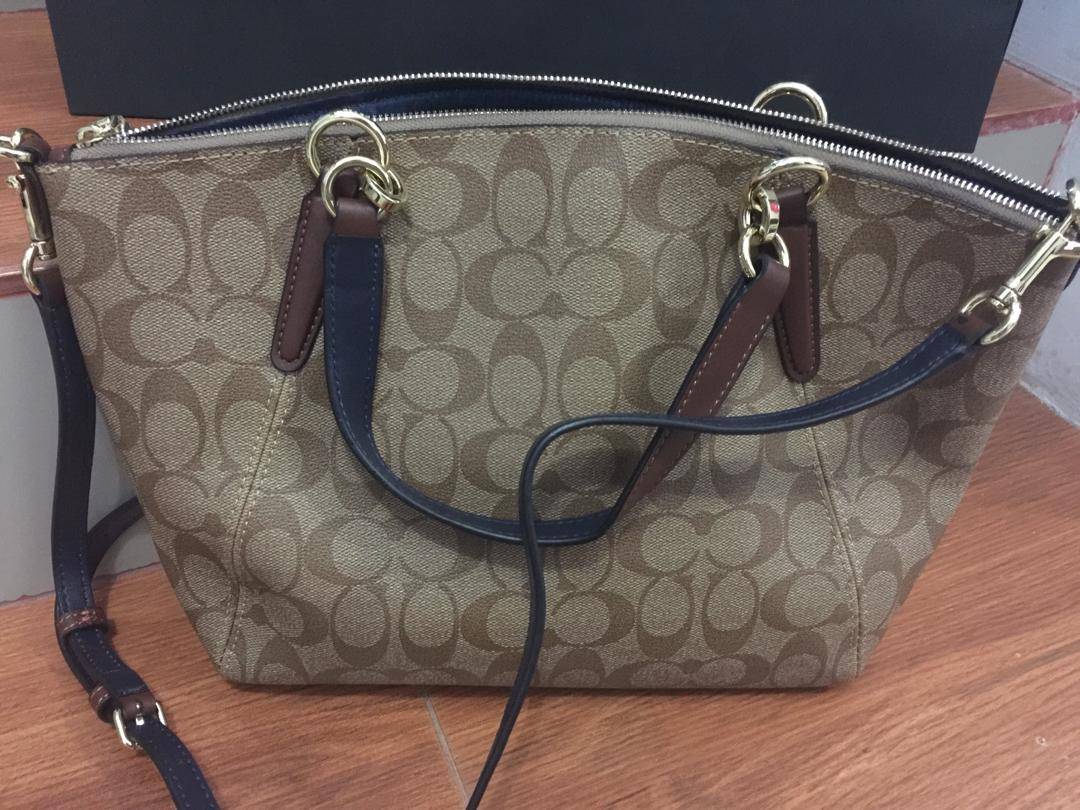 Coach ORIGINAL KELSEY SIGNATURE Brown (Small)