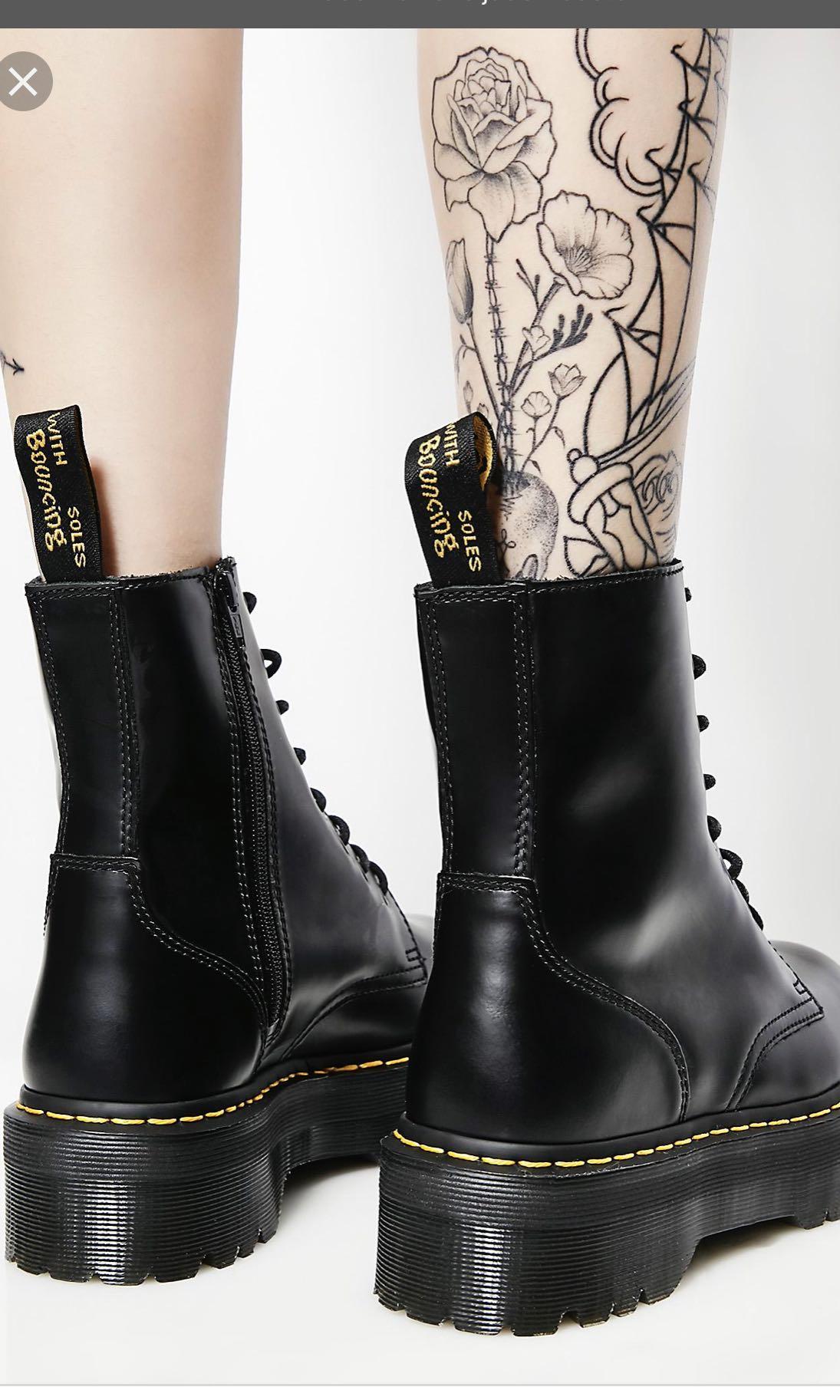 dr martens jadon boot size 7