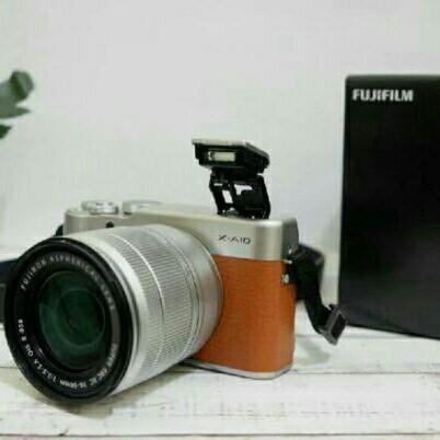 Fujifilm X-A10 / XA10 Kit16-50mm OIS II - BROWN
