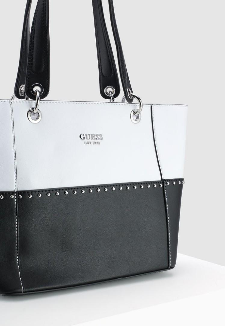 Guess Kamryn Color - Block Shopper Tote