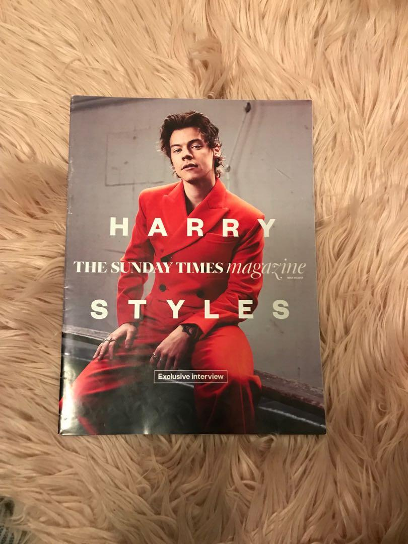 harry styles magazines - out of print
