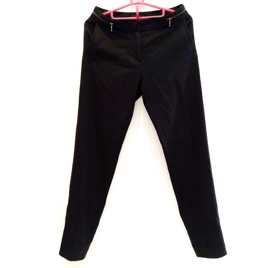 H&M Black Trousers Pants