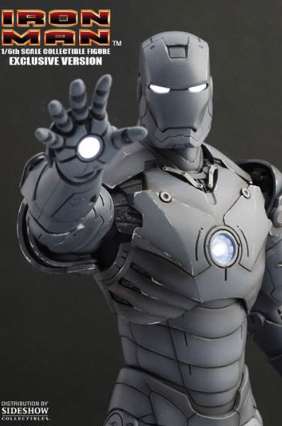 Hot Toys Mms 101 Iron Man Mark Iii Gunmetal Toys Games Bricks