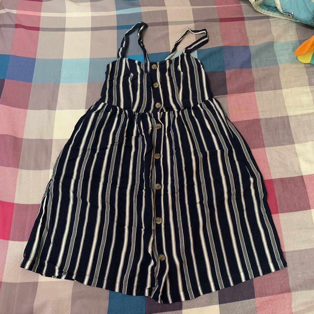 JayJays 深藍條紋小洋裝