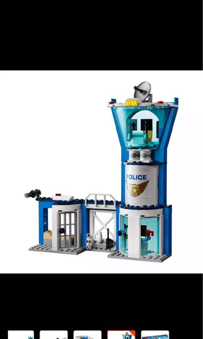 Lego City Police Sky Police Air Base 60210