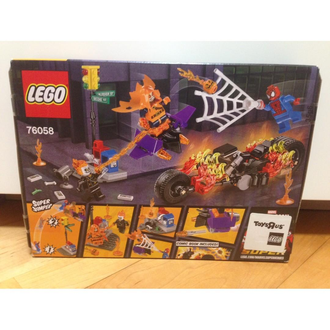 Lego Spider-Man Ghost Rider Team Up (76058)