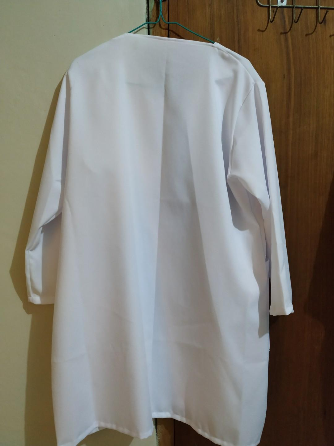 Long outer white