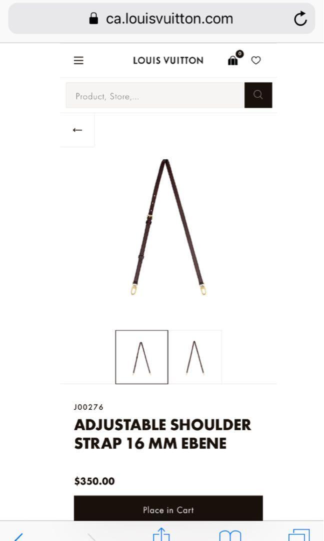 Louis Vuitton-Speedy Bandouliere 25 Shoulder Strap