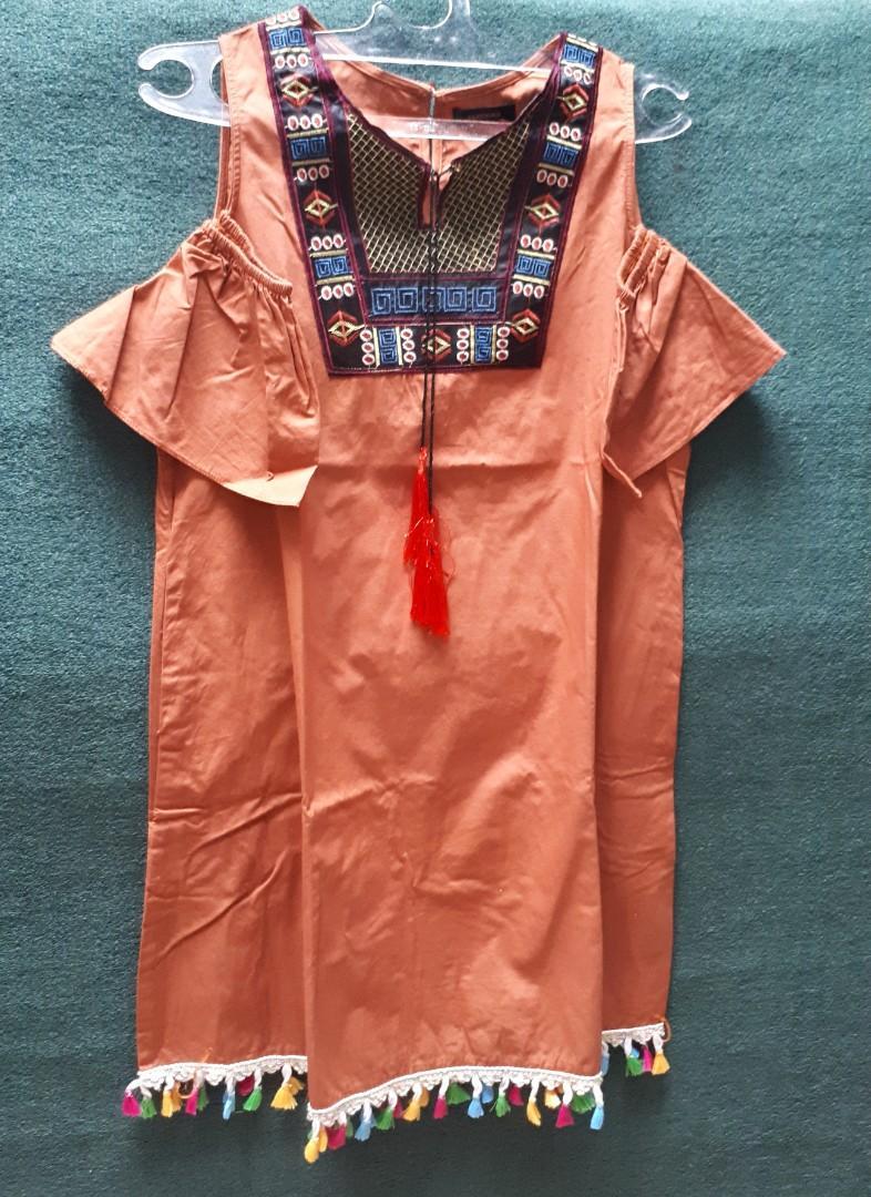#mauthr BOHEMIAN DRESS