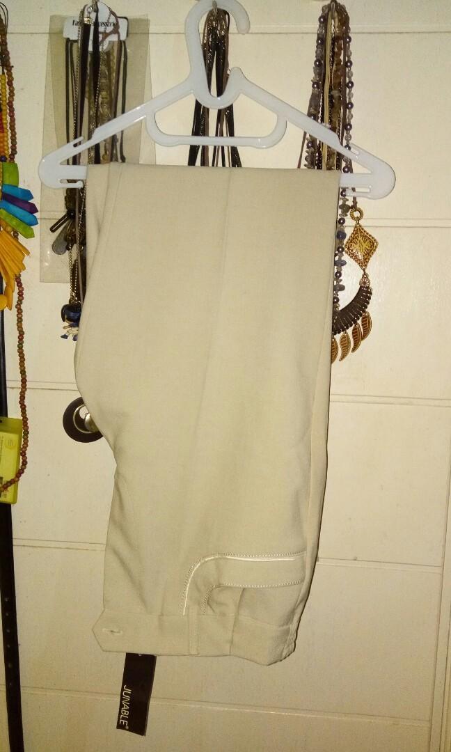 #mauthr celana bahan/celana ke kantor