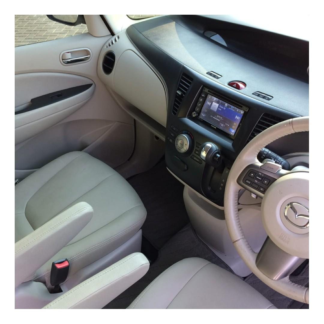 Mazda Biante 2.0 Skyactiv AT 2015 White #Km 43 Rb#No Pol Ganjil#