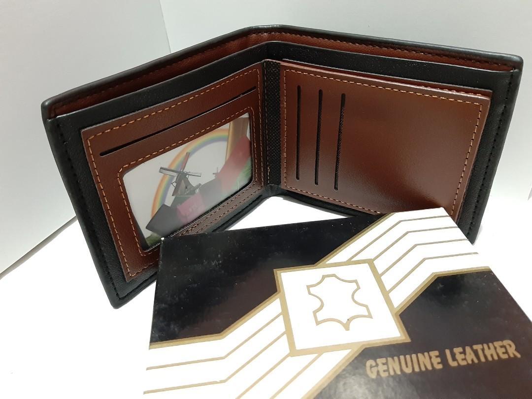 Men's wallet PU leather